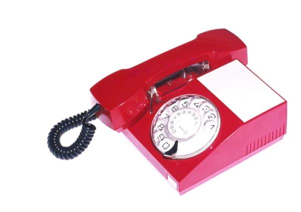 Photo of the Iskra phone - design by Davorin Savnik