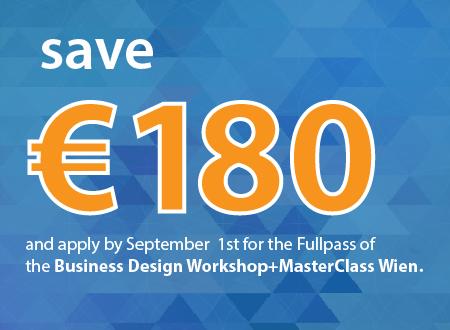Workshop Business Model Design Wien workshop Registration Countdown 180 eur save-58