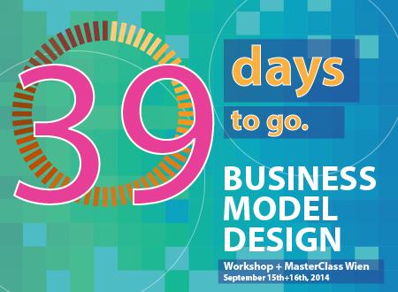 Workshop: Business model design Wien—39 days to go
