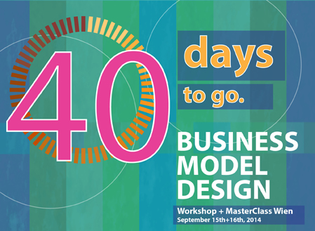 Workshop: Business model design Wien—40 days to go