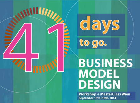 Workshop: Business model design Wien—41 days to go