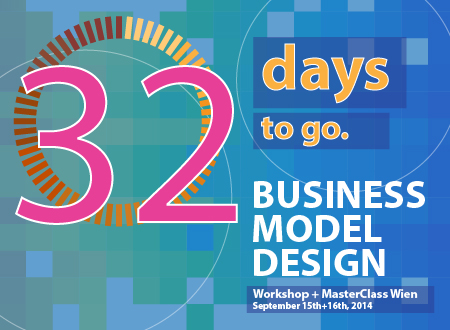 Workshop Business Model Design Wien workshop Registration Countdown 32 days