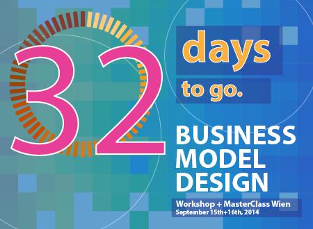 Workshop Business Model Design Wien workshop Registration Countdown 32 days