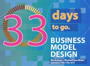 Workshop Business Model Design Wien workshop Registration Countdown 33 days