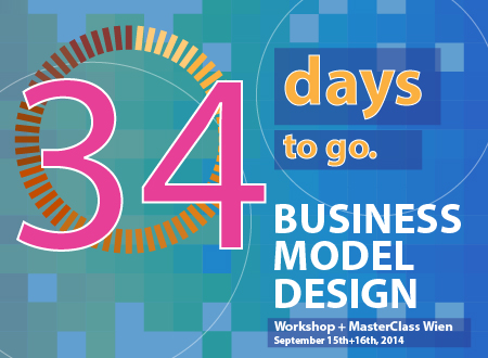 Workshop Business Model Design Wien workshop Registration Countdown 34 days