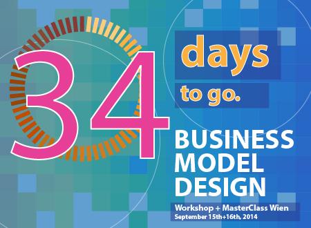 Workshop Business Model Design Wien workshop Registration Countdown 34 days