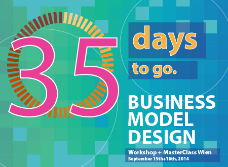 Workshop Business Model Design Wien workshop Registration Countdown 35 days