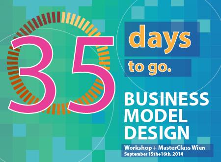Workshop Business Model Design Wien workshop Registration Countdown 35 days