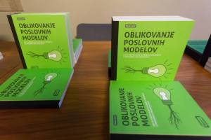 Book on business models innovation by Marko Savić, photo: Nada Žgank