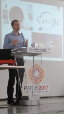 Benjamin Brown, speaker at the Cyins of Creativity Leisure&Tourism-, and Agro-Foods Industry seminar , Paphos, November 17th, 2015