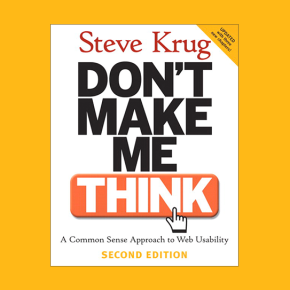 Book reviews > Don't Make Me Think: A Common Sense Approach to WebUsability