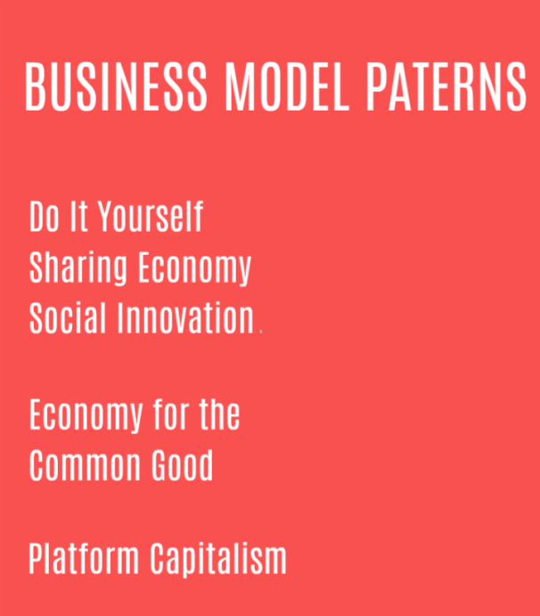 Business model patterns in the new century