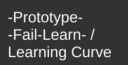 -Prototype-Fail-Learn triangle