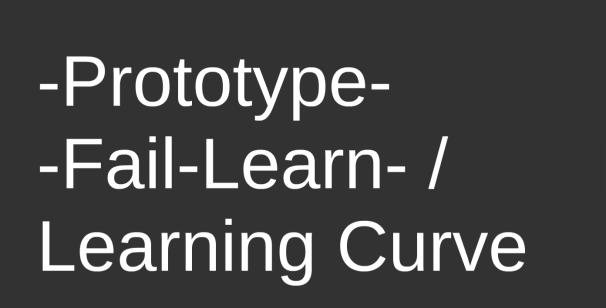 -Prototype-Fail-Learn triangle